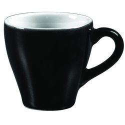 Filiżanka do espresso 70 ml, czarno-biała | ARIANE, Amico Cafe