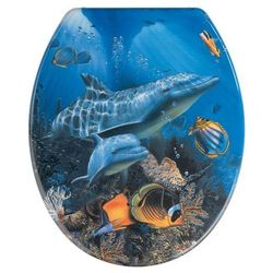 Deska sedesowa SEA LIFE - Duroplast