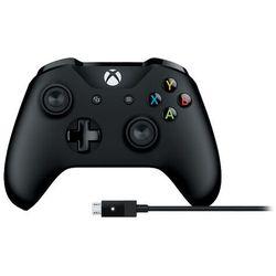 Gamepad Microsoft Xbox One + kabel PC- Zamów do 16:00, wysyłka kurierem tego samego dnia!