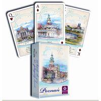 Gry dla dzieci, Karty do gry CARTAMUNDI Akwarele Poznań 55 listków