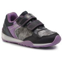Półbuty i trzewiki dziecięce, Sneakersy GEOX - J N. Jocker G. B J94G2B 054AU C9275 M Dk Grey/ Lilac