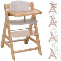 Krzesełka do karmienia, HAUCK Krzesełko do karmienia Beta kolor naturalny - BEZPŁATNY ODBIÓR: WROCŁAW!