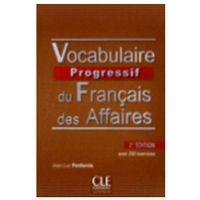 Książki do nauki języka, Vocabulaire progressif du francais des affaires + CD (opr. miękka)
