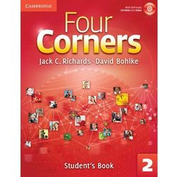 Four Corners 2 Student's Book with Self-study CD-ROM and Online Workbook (opr. miękka)