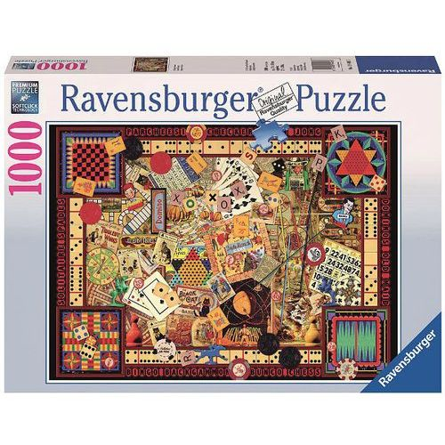 Puzzle, Puzzle RAVEN. 1000 EL. Vintage