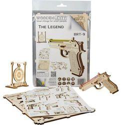 Puzzle 3D Pistolet The Legend BRT-9 (WR347). od 14 lat