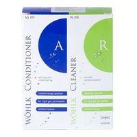 Płyny pielęgnacyjne do soczewek, Wöhlk Perfect Conditioner + Cleaner 45 + 15 ml
