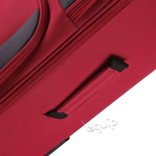 Torby i walizki, Walizka duża Travelite Paklite Rocco - czerwony
