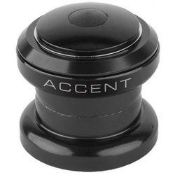 "610-10-65_ACC Stery Accent HST-B11 1-1/8"" stal a-head łożyska kulkowe czarne"