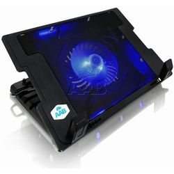 AAB Cooling NC20 Czarna Podstawka pod laptopa