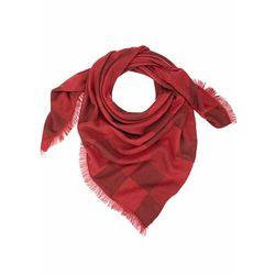 Duża chusta XXL bonprix czerwony kasztanowy - pomarańczowo-czerwony