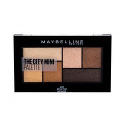 Maybelline The City Mini cienie do powiek 6 g dla kobiet 400 Rooftop Bronzes