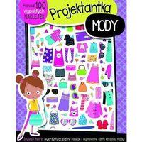 Książki dla dzieci, Projektantka mody - 100 wypukłych naklejek