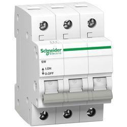 Rozłącznik izolacyjny modułowy SW 3P 63A 415VAC A9S62363 Schneider Electric