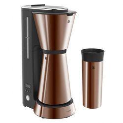 WMF KITCHENminis Ekspres przelewowy do kawy + kubek termiczny, miedziany