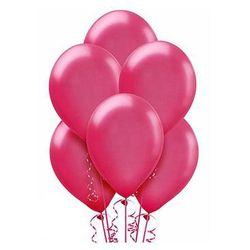 Balony lateksowe duże - 12 cali - fuksjowe - 100 szt.