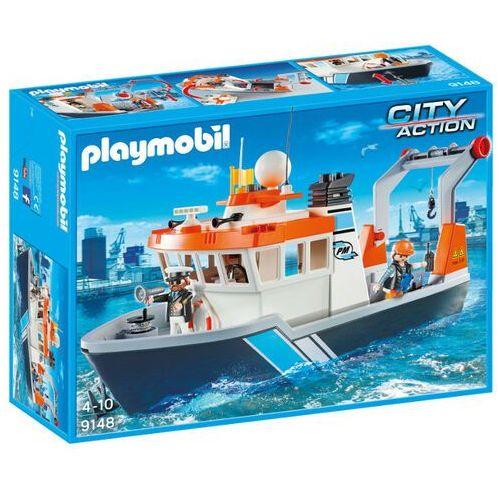 Klocki dla dzieci, Playmobil FAMILY FUN Holownik 9148