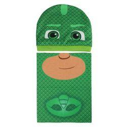 Komplet: czapka jesienna / zimowa i komin Pidżamersi - zielony