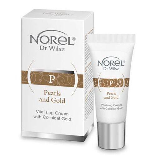 Pozostała pielęgnacja, Norel (Dr Wilsz) PEARLS AND GOLD VITALIZING CREAM WITH COLLOIDAL GOLD Krem witalizujący ze złotym pyłem (DS511)