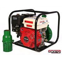 Sprzęt przeciwpożarowy, MOTOPOMPA, POMPA SPALINOWA ciśnieniowa mocna Holida QGZ65-55 5 BAR deszczownia