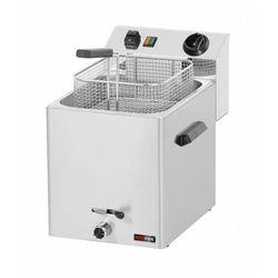 Frytownica elektryczna z kranem | 8L | 3000W | 270x420x(H)370mm