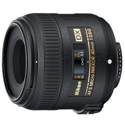 Obiektyw NIKON AF-S DX Micro ED 40 mm f/2.8G (JAA638DA) + DARMOWY TRANSPORT!