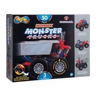 Klocki dla dzieci, Zoob Mobile Fastback Monster Trucks