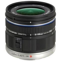 Olympus M.ZUIKO ED 9-18mm f/4.0-5.6 (czarny) - produkt w magazynie - szybka wysyłka!