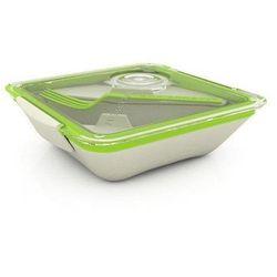 Pudełko na lunch Box Appetit zielono-białe