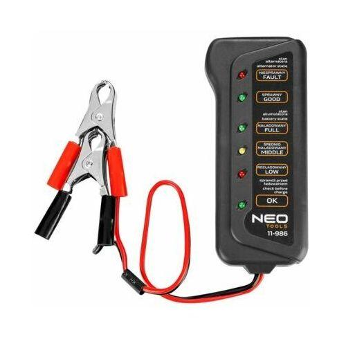 Tester akumulatorów NEO TOOLS 11-986