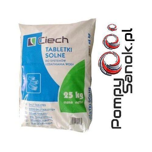 Odkamieniacze, Sól tabletkowana, sól tabletkowa, sól pastylkowana, tabletki solne - 25kg CIECH