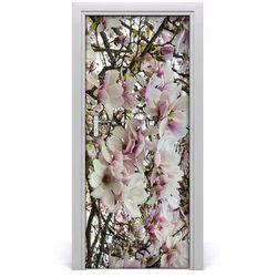 Nalepka Naklejka fototapeta na drzwi Kwiaty magnolii