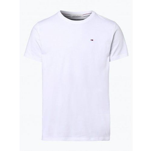 T-shirty męskie, Koszulka Tommy Jeans T-shirt Męski Biały