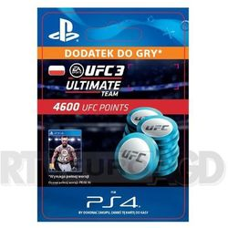 EA Sports UFC 3 4600 Punktów [kod aktywacyjny]