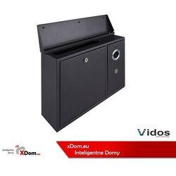 S551-SKN Skrzynka na listy z wideodomofonem