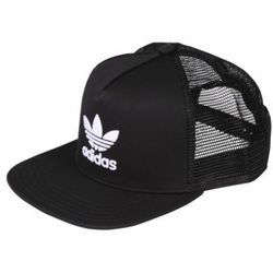adidas Originals TREFOIL TRUCKER Czapka z daszkiem black