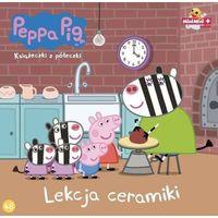 Książki dla dzieci, Świnka Peppa. Książeczki z.. 48 Lekcja ceramiki - Praca zbiorowa (opr. broszurowa)