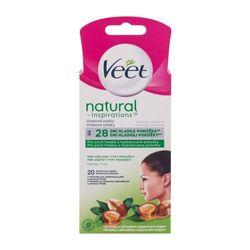 Veet Natural Inspirations™ Face Wax Strips Argan Oil akcesoria do depilacji 20 szt dla kobiet