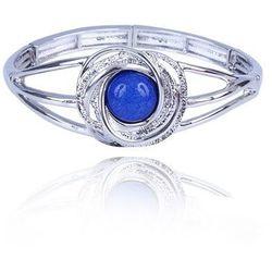 Bransoletka z niebieskim oczkiem - niebieski