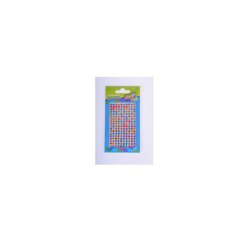 Pozostałe artykuły papiernicze, Ozdoba dekoracyjna kryształki samoprzylepne (308966)