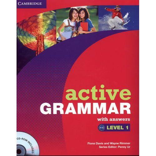 Językoznawstwo, Active Grammar With Answers Level 1 + Cd (opr. miękka)