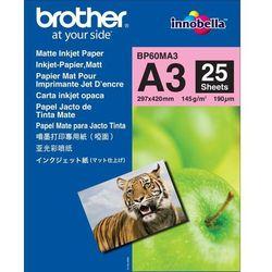 Papier fotograficzny Brother   25 arkuszy   matowy   A3