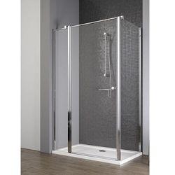 Radaway EOS II KDJ drzwi 80 lewe x ścianka 90 prawa wys. 195 cm szkło przejrzyste 3799420-01L/3799431-01R