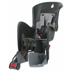 Fotelik POLISPORT Bilby RS czarny-szary / Montaż: tył