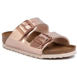 Klapki BIRKENSTOCK - Arizona Kids 1012478 M Electric Metallic Copper