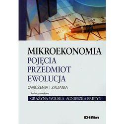 Mikroekononia Pojęcia przedmiot ewolucja Ćwiczenia i zadania (opr. miękka)
