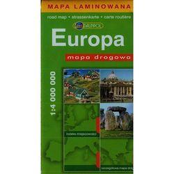 Europa. Mapa Drogowa W Skali 1:4 000 000 (opr. miękka)