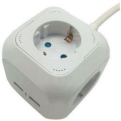 V-tac V-TAC Przedłużacz Kostka 4 gniazda 2 gniazda USB 1.55MM 1.4M VT-1154-2 SKU 8800 - Rabaty za ilości. Szybka wysyłka. Profesjonalna pomoc techniczna.