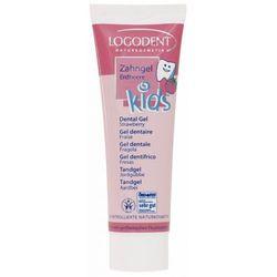 Logona Kids żel truskawkowy do zębów dla dzieci 50ml