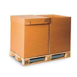 Karton paletowy, tektura 5-warstwowa, 800x600x800 mm